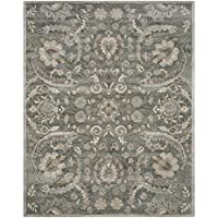 Safavieh Bella Collection BEL924B Handmade Light Grey and Multi Viscose Area Rug (6 x 9)