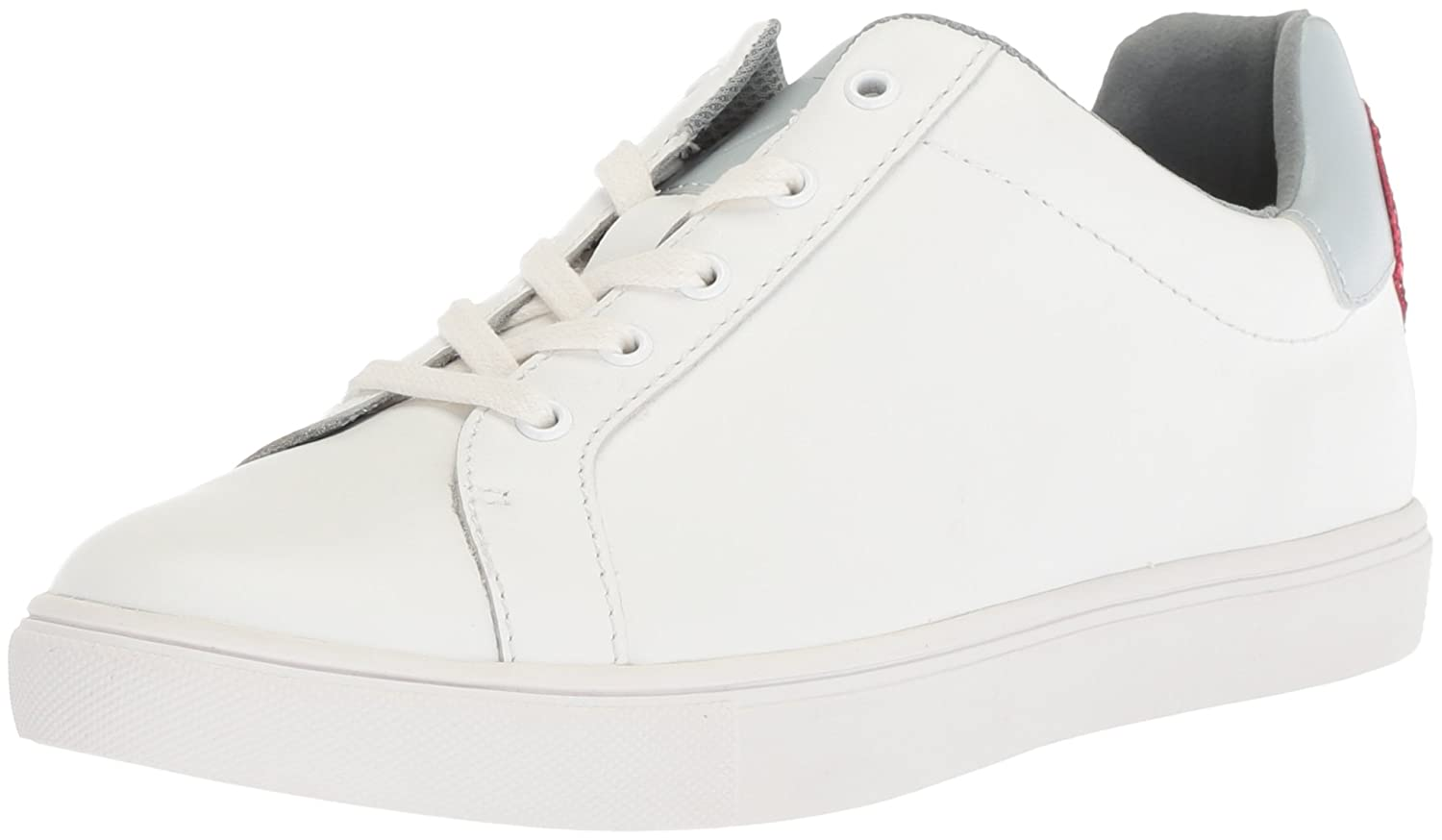 The Fix Women's Tailor Heart Lace-up Fashion Sneaker B0788D3ZCX 6 B(M) US|Bright White Leather
