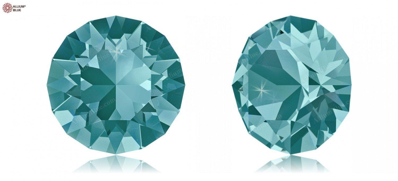 SS19 (4.40  4.60 mm) Swarovski Crystals 1170577 Round Stones 1088 SS 34 blueE ZIRCON F, 144 Pieces