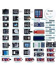 ELEGOO Upgraded 37 in 1 Sensor Modules Kit with Tutorial Compatible with Arduino IDE UNO R3 Nano