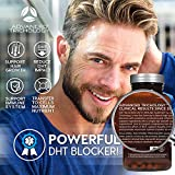Advanced Trichology DHT Blocker with Immune Support - Hair Loss Supplements, High Potency Saw Palmetto, Green Tea & Probiotics, Gluten-Free, Vegetarian - 120-count bottle - 90 Day