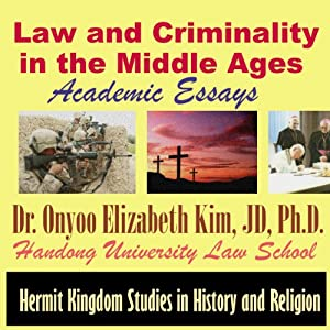 Law and Criminality in the Middle Ages Audiobook
