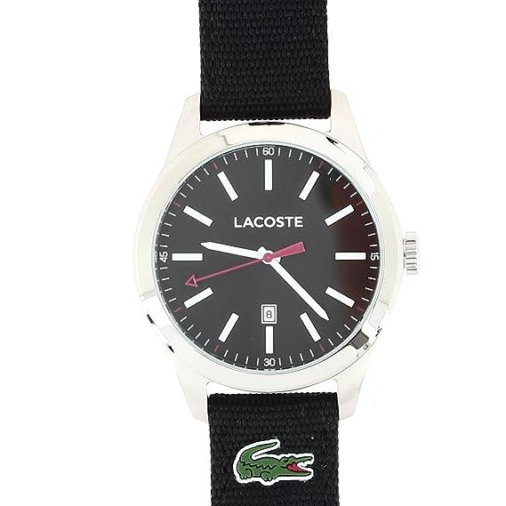 Lacoste – 2010778 – Auckland – Reloj Hombre – Cuarzo Analógico – Reloj Negro – Pulsera