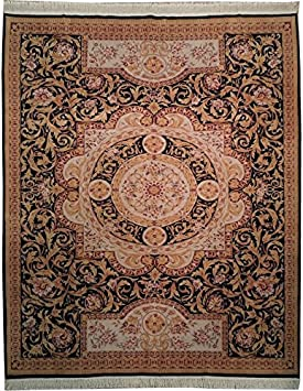 8x10 Handmade Versace Style Fine Quality Rug: Amazon ca: Home & Kitchen
