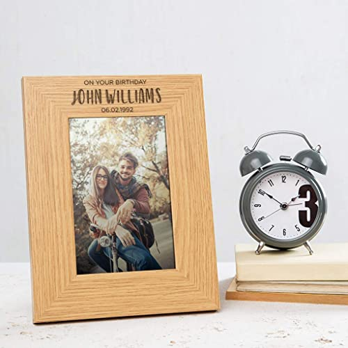 Best Friends Picture Frame,Personalized Picture Frame,Engraved Picture Frame,Wood Picture Frame