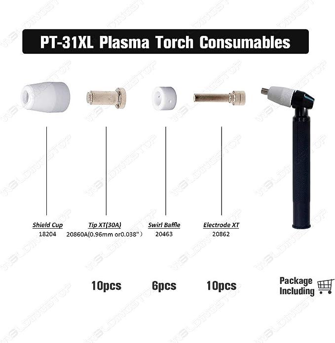 10 x 20862 Electrodes PT31XT *FAST US SHIP*