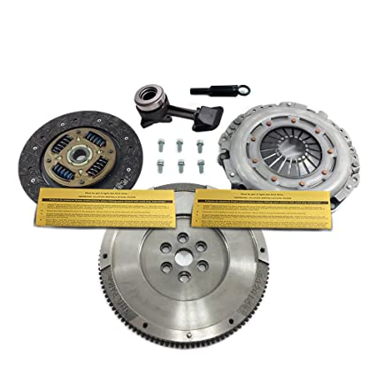 Amazon.com: VALEO CLUTCH KIT+ SLAVE+ FLYWHEEL 00-04 FORD FOCUS SE ZTS ZTW ZX3 ZX5 2.0L DOHC: Automotive