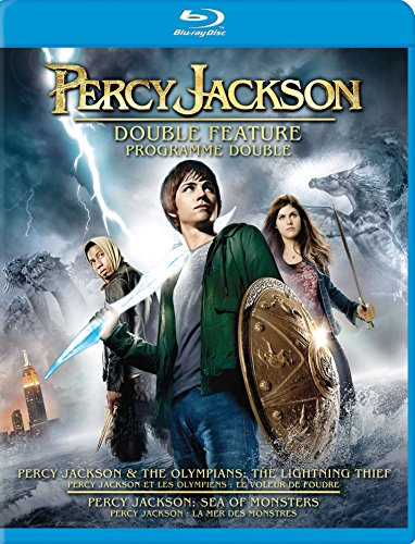 Percy Jackson & The Olympians : The Lightning Thief / Percy Jackson: Sea of Monsters (Percy Jackson Double Feature) [Blu-ray]