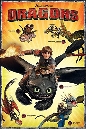 Póster de How to train your dragon
