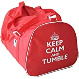 KEEP CALM AND TUMBLE or BACKFLIP Holdall Dance Bag for Gymnastics or  Streetdance 391bcfd3e8