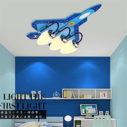 Ceiling Lights Plane Model Glass Lamps For Children Baby Kids Child Rooms Ceiling Light Lighting For Kid Room Decoration Decor Ceiling Lights & Fans Lights & Lighting