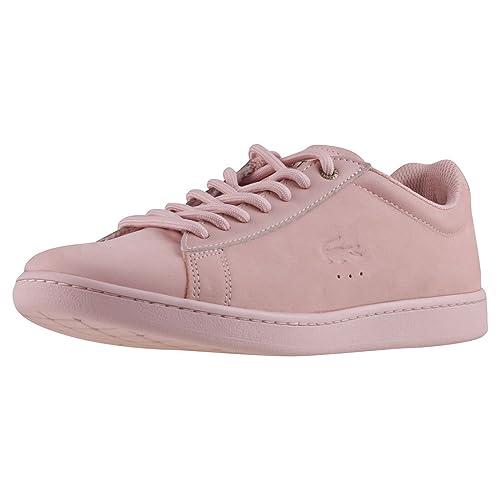 Lacoste Carnaby EVO Mujer Zapatillas Rosa: Amazon.es: Zapatos y complementos