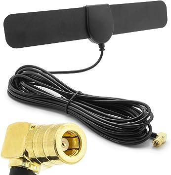 Cool Toner Antena Adaptador de radio de coche DAB SMB para JVC Kenwood Sony Alpine Pioneer