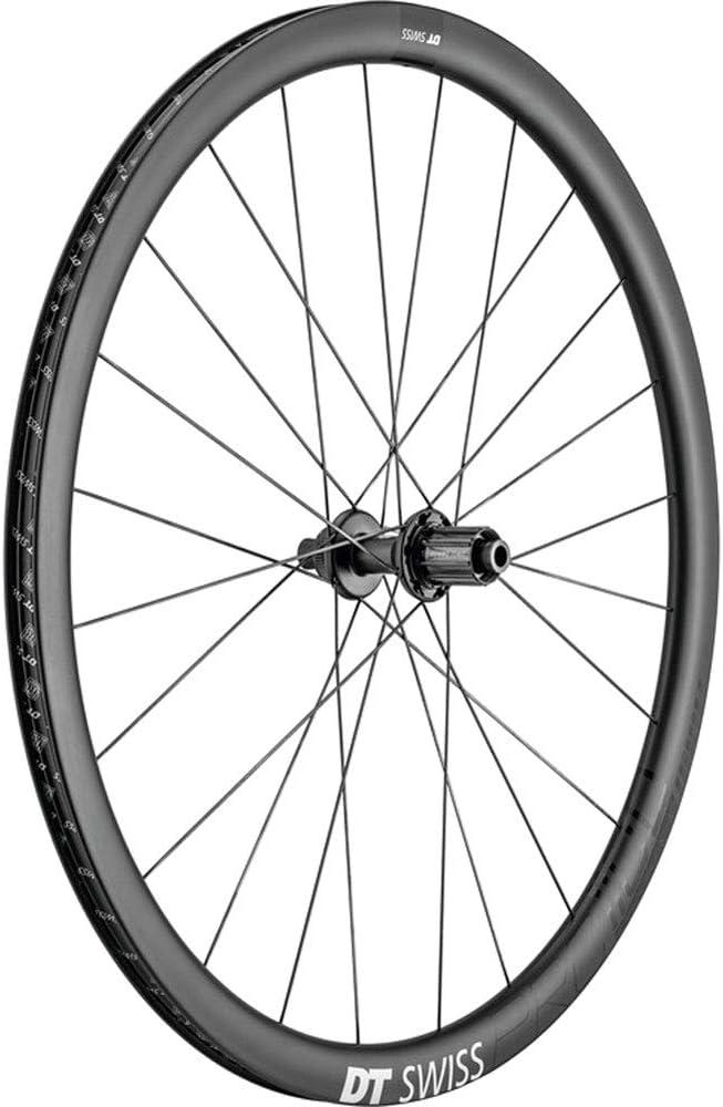 DT Swiss Unisex Color Negro 142//12 mm Bicicleta para Adultos PRC 1100 Dicut 35 DB Rueda Trasera