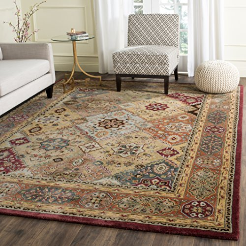 Safavieh Persian Legend Collection PL812A Handmade Traditional Red and Rust Wool Area Rug (5