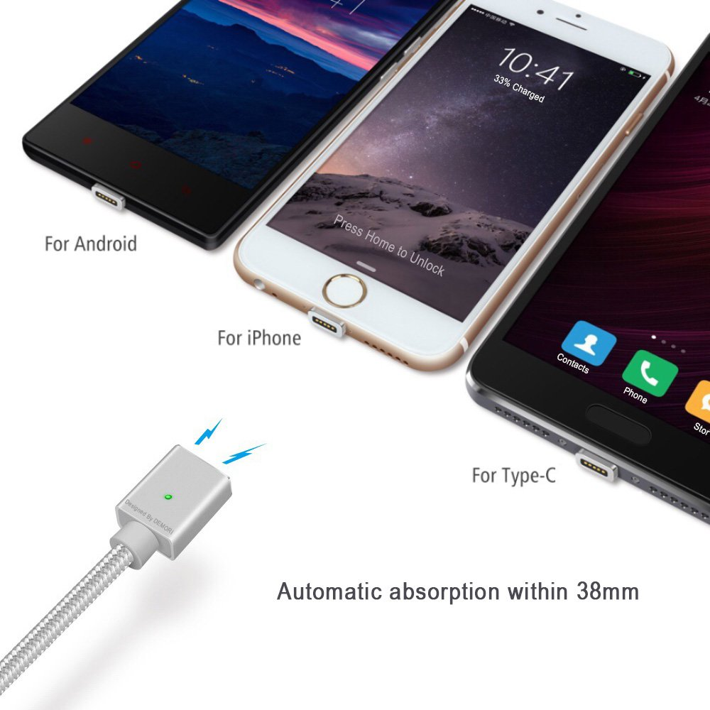 Cable iPhone, iPhone Lightning Cable, Cable Samsung, Cable Android, Cable Type C, Cable USB – Todo en Uno, Cable Magnético Para la Conducción, Cable Lightning, Cable iPhone, Cable Samsung, Cable Android, Cable type C, Cable de carga de coche, iPhone cable
