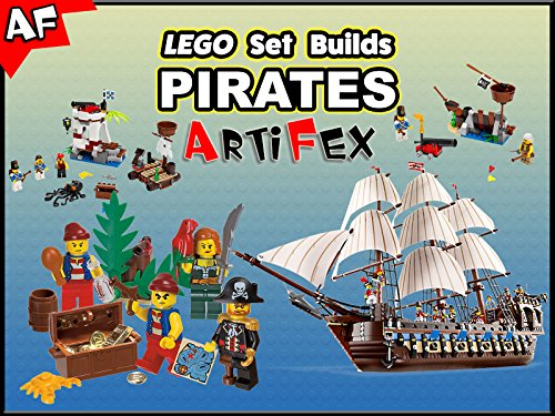 Clip: Lego Set Builds Pirates on Amazon Prime Video UK