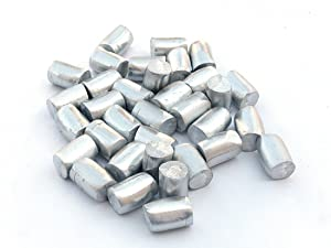 Tin Nugget (1 Pound | 99.9+% Pure) Raw Tin Metal by MS MetalShipper
