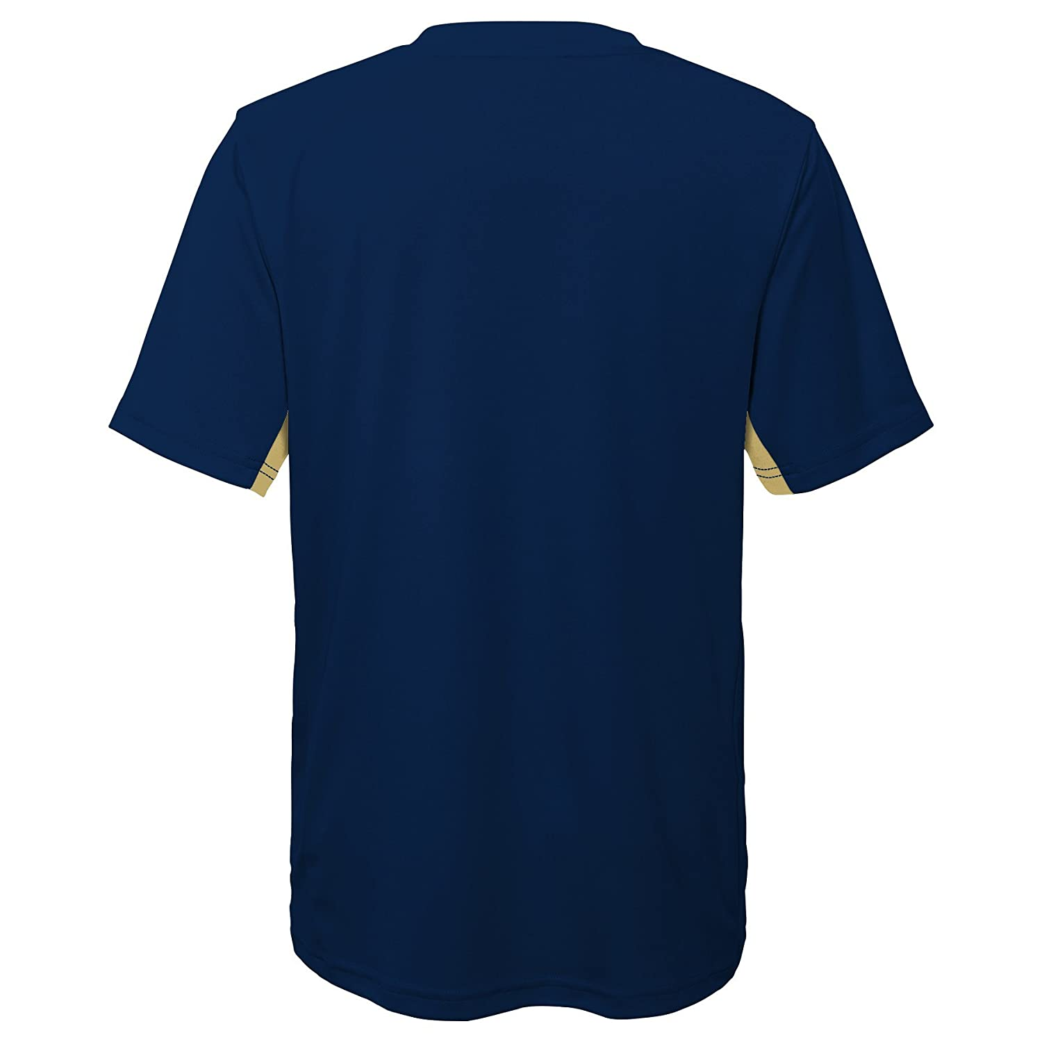 Dark Navy 10-12 NCAA by Outerstuff NCAA Pittsburgh Panthers Youth Boys Mainframe: Short Sleeve Performance Top Youth Medium