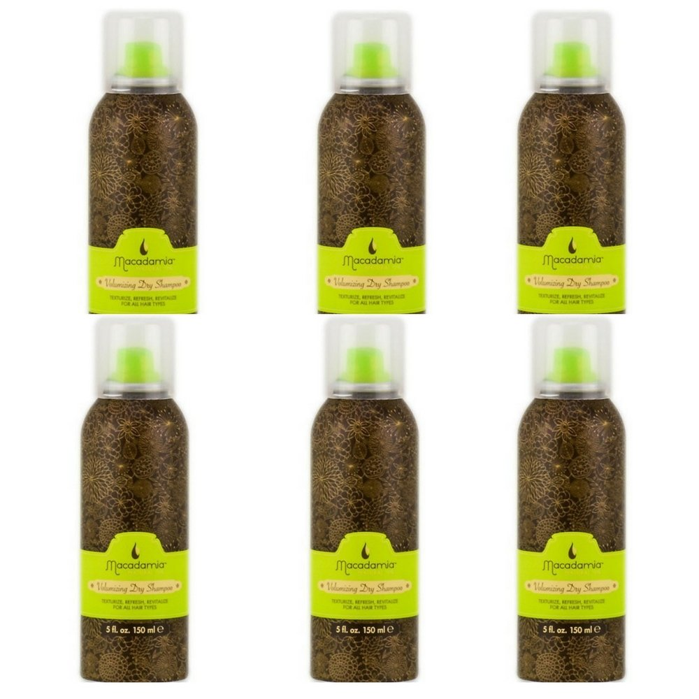Macadamia Volumizing 5-ounce Dry Shampoo (6 pack)