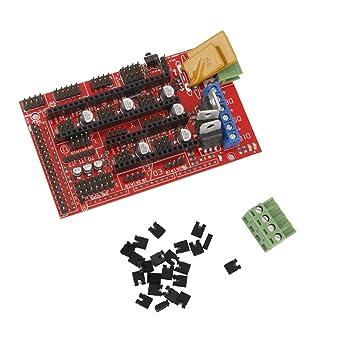 Rampas Placa del Controlador De Impresora 3D 1.4 para Arduino ...