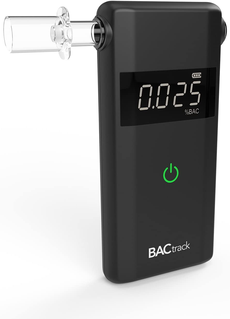 BACtrack Scout Breathalyzer | Professional-Grade Accuracy | Portable Breath Alcohol Tester for Personal & Professional Use