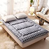cotton mattress/folding mattress/thick mattress/double tatami mattress/cotton mat-J 120x200cm(47x79inch)