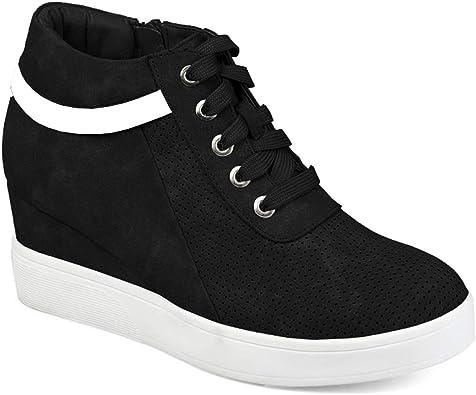 FISACE Womens Platform Sneaker Hidden