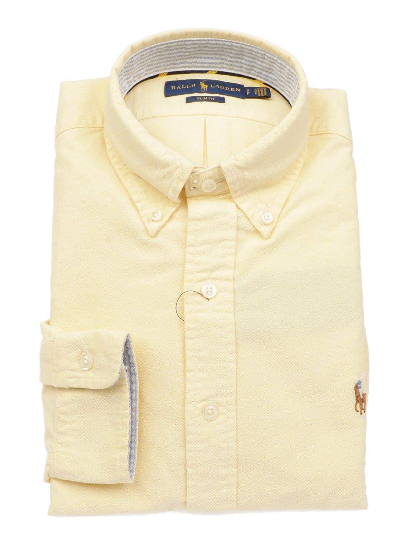 Ralph Lauren Luxury Fashion Hombre 710723607009 Amarillo Camisa ...