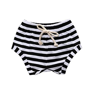 423a58fb77f9f6 Zerototens Toddler Baby Short Pants,Newborn Infant Boys Girls Striped Bread  Shorts Briefs Trunks Soft Cotton Underwear Casual Beach Short Trousers for  0-3 ...