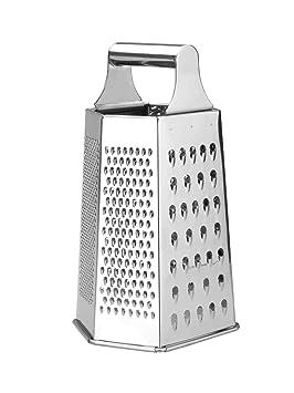 LACOR 60307-Rallador INOX 6 Caras, Acero Inoxidable
