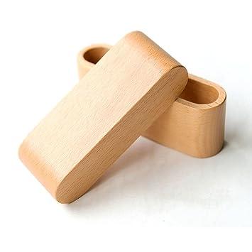 Tobeit Kartenhalter Holz Visitenkarten Box