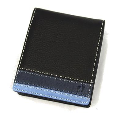 95800e5c0d50 財布 二つ折り メンズ レザー レディース ブランド 小銭入れあり 男性 ハンテン HANG TEN 61HT03 ブラック