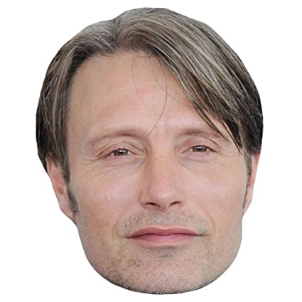 Amazoncom Mads Mikkelsen Celebrity Mask Card Face And Fancy Dress