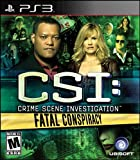 playstation 3 games for girls - CSI: Fatal Conspiracy - Playstation 3