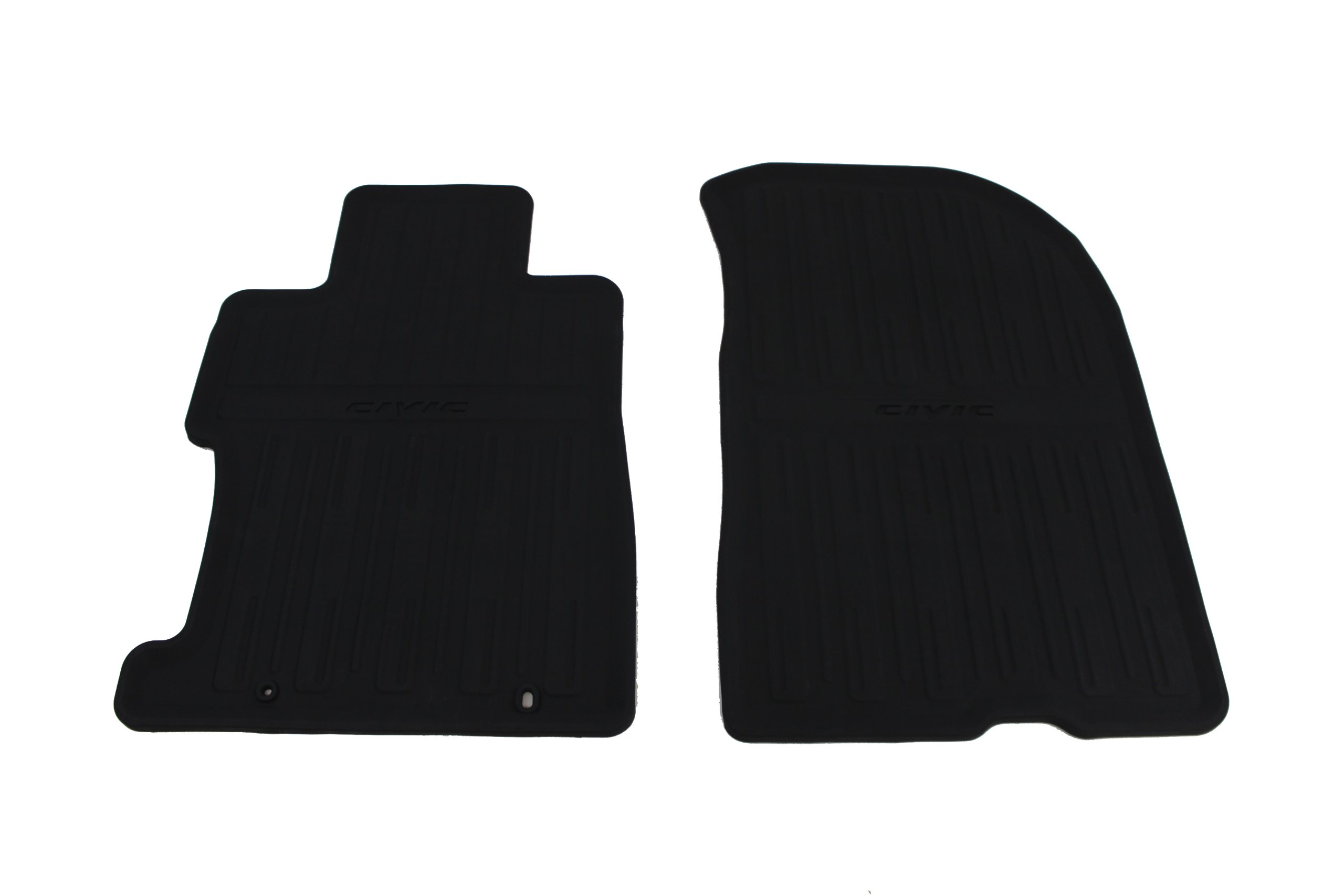 Amazon.com: Genuine Honda Accessories 08P13-SNA-110 Black All Season Mat  for Select Civic Models: Automotive