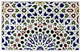 Countertop Backsplash Moroccan Mosaic Tile Box of 14 - This 100% Money Back Guarantee Moroccan Tile Brings A Breathtaking Look To Any Living Area, Kitchen, Backsplash, Bathroom, Countertop, Porch Or Patio. This Moorish Style Tile Is Ideal For All Tiling Projects.