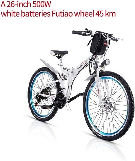 XXCY M70 + 500W 26 E-Bike Foding MTB Bicicleta eléctrica 48v 8AH ...