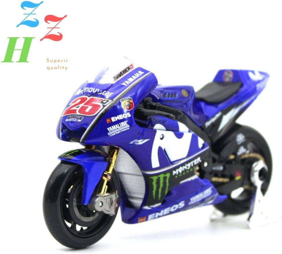ZZH 2018 Ducati Desmosedici GP-4 Kit De Moto Modelo De Edici/ón Especial 1:18 Escala,A