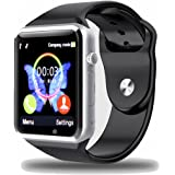 Padgene New GSM Bluetooth Smart Watch with Camera for Samsung S5 / Note 2 / 3 / 4, Nexus 6, Htc, Sony and Other Android Smartphones (Black)