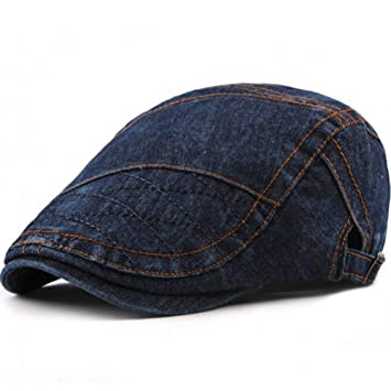 JJJRMP Gorras Sombreros para Hombres Mujeres Algodón Denim ...