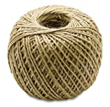 red and white butcher paper - Brown - 400 Feet Jute Twine - Heavy Duty All Natural, Biodegradable,- For Industrial, Packaging, Arts & Crafts, Hobby, Gifts, Decoration, Bundling, Gardening, And Home Use - By Kazco