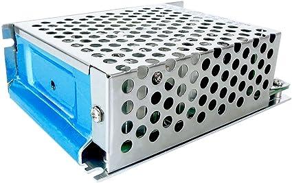EsportsMJJ 12-50V 30A 500W Einstellbarer Geschwindigkeitsregler Dc-B/ürstenmotor Drehzahl Pwm-Controller
