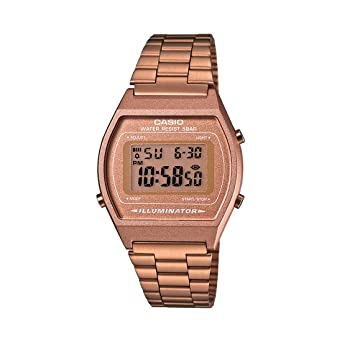 2857b7e5278 Amazon.com  Casio Women s B640WC-5AEF Retro Digital Watch  Casio ...