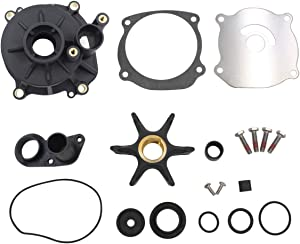 Water pump repair kit with housing for Johnson Evinrude 85-300HP V4 V6 V8 part number 5001594,395060,434421