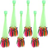 Globex Holi Magic Water Balloon Set of 6(222 Pieces) - Multicolor