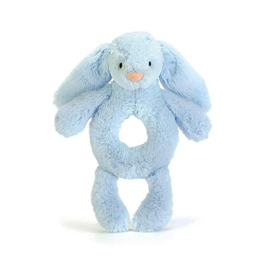 Jellycat Bashful Unicorn Plush Baby Ring Rattle