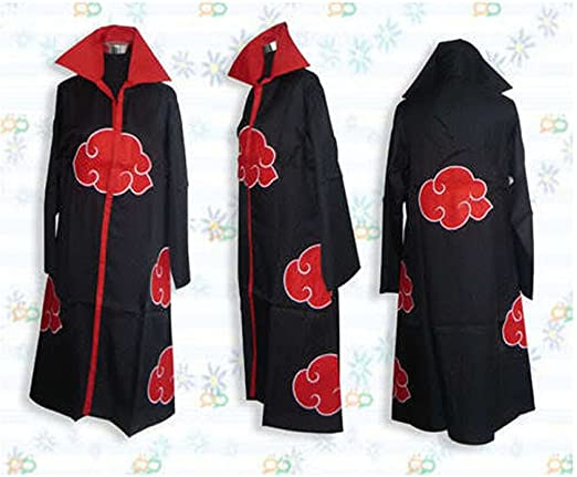 Amazon.com: Capa de Uniforme para disfraz cosplay, Akatsuki ...