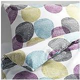 Ikea MALIN RUND 2pc Twin Duvet-Cover 100-Percent Cotton