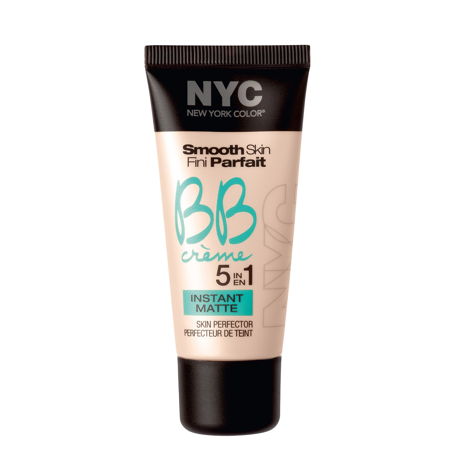 N.Y.C. New York Color BB Creme Foundation Matte, Light, 1 Fluid Ounce Coty 27005805001